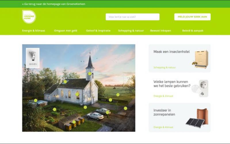 GroeneKerken.nl is de website over duurzaamheid voor kerken.