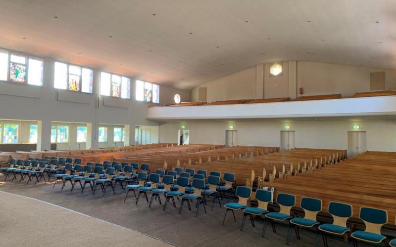 De meeste kerken blijven leeg tijdens de lockdown. | Copyright Kerkmagazine