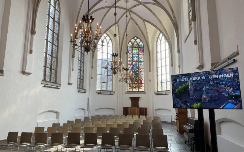 Het interieur van de Grote Kerk in Wageningen | Beeld: (c) Kerkmagazine