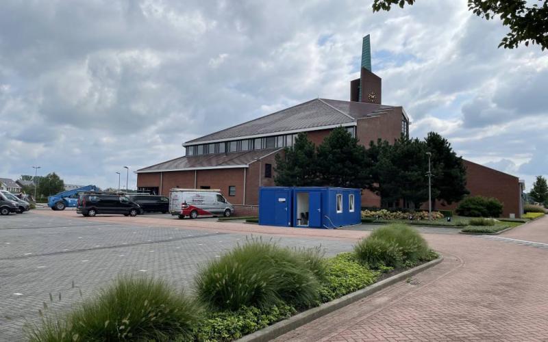 De Adullamkerk van de Gereformeerde Gemeente Barneveld-Zuid | Beeld: copyright Kerkmagazine