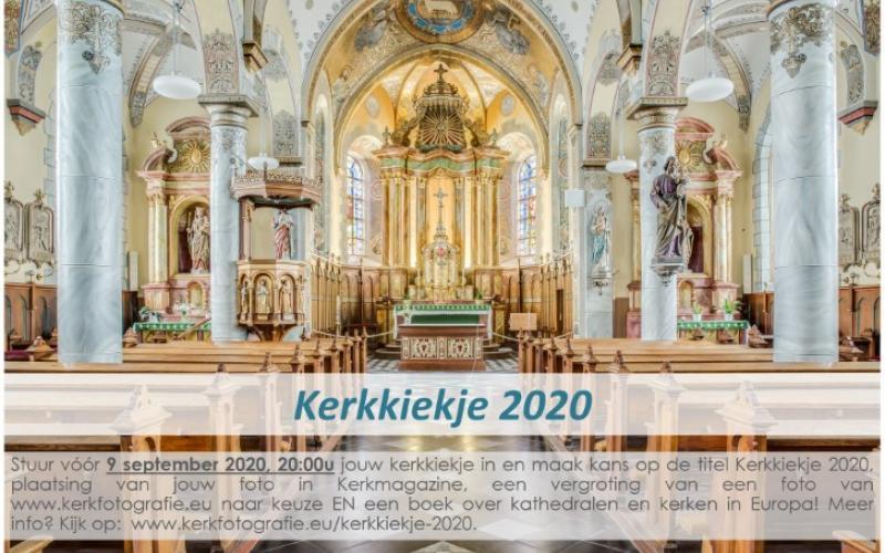 Kerkmagazine sponsort fotografiewedstrijd Kerkkiekje 2020.