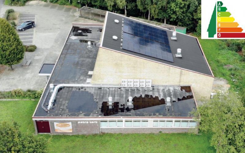 De Petrakerk in Harderwijk krijgt energielabel A.