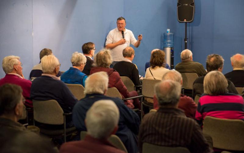 Workshops tijdens de Kerkenbeurs