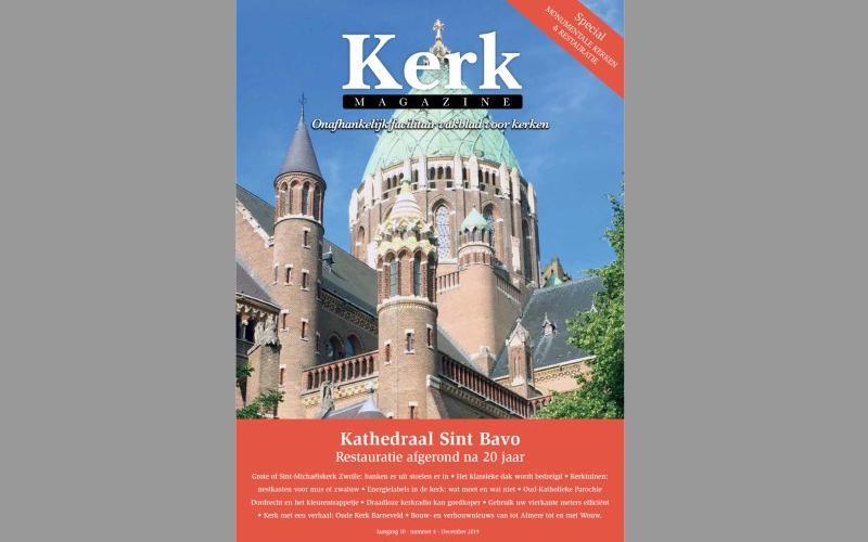 Cover Kerkmagazine december 2019
