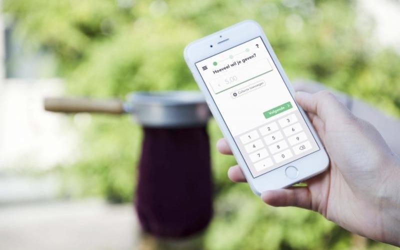 Met de Givt-app kunnen kerken digitaal collecteren.