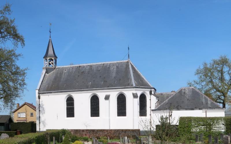 Het 200 jaar oude Witte Kerkje in Odijk | Beeld: website PG Odijk