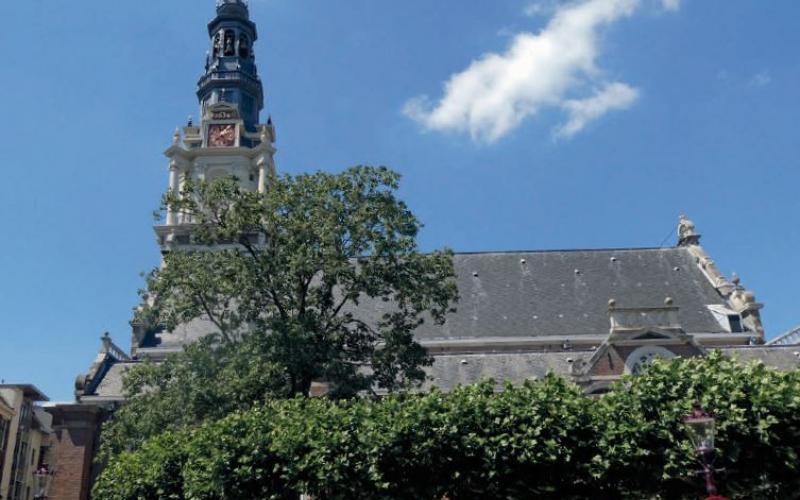De Zuiderkerkstoren in Amsterdam