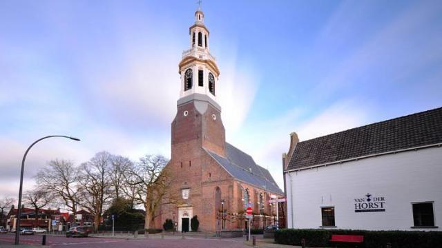 Grote Kerk in Nijkerk gaat in de steigers.