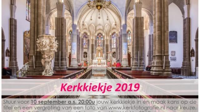 Fotowedstrijd Kerkkiekje 2019
