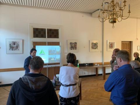 Workshop tijdens het congres Groen Geloven in het Dominicanenklooster in Zwolle. Foto: copyright Helderblauw, Barneveld