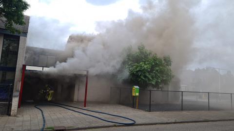 Veel schade door brand in kerkgebouw van Nijmeegse Kerk van de Nazarener.   Beeld: website kerk