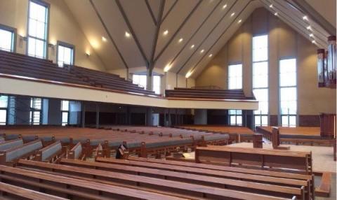 Kerkgebouw Gereformeerde Gemeente Opheusden