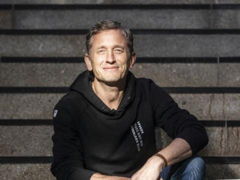 Tiemen Westerduin, initiatiefnemer van het platform #nietalleen