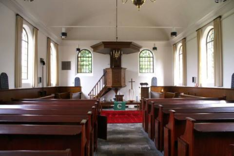 Het kerkgebouw van de Protestantse Gemeente in Grolloo. | Foto: website PG Grolloo