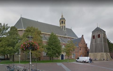De Grote of Martinikerk in Sneek