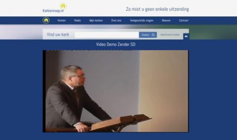 Live kerkdienst via Kerkomroep.nl