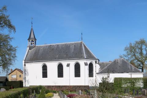 Het 200 jaar oude Witte Kerkje in Odijk   Beeld: website PG Odijk